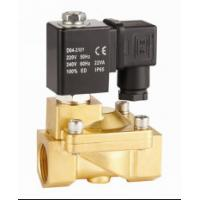 Cheap 2 Way Pilot Operated Water Solenoid Valve 2 Inch Solenoid Valve NC Brass for sale