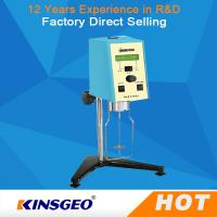 Quality High Density Sensor Digital Rotational Viscometer Brookfield Viscometer wholesale
