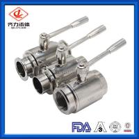 China Mini Full Bore Ball Valve Pneumatically Actuated  Beverage Industries Use on sale