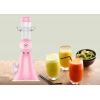 Quality Slow Screw Cold Press Manual Juice Maker Compact Designed Manual Vegetable Extractor wholesale
