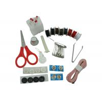 China Eco Friendly Material Home Sewing Kit , Small Sewing Kit Set With Tweezer Scissor  on sale