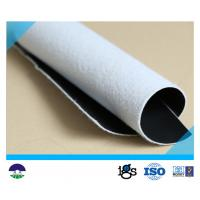 Drainage Composite Geotextile Light Weight For Lake Dike / 6m Width