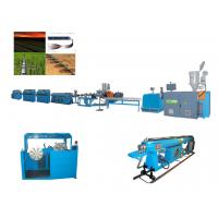 Quality Embedded labyrinth drip irrigation pipe plastic machine / extrusion machine with reasonable price wholesale