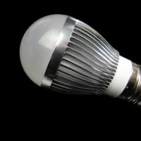 Quality 4W AC100 - 240V / 50 - 60Hz Black / Silver Cup Dimmable LED Lighting Bulb With CE ,RoHS wholesale