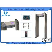 Quality 255 Sensitivity Walk Through Metal Detector With 6/12/18 Zones Setting wholesale