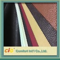 Quality Non - Fading Embossed PVC Artificial Leather Material / For ArmChair , CE REACH Approval wholesale