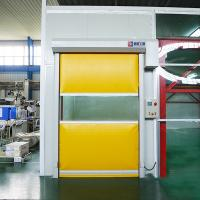 China Industrial protection equipment Automatic Plastic Fast Rolling up Door for Internal Application on sale