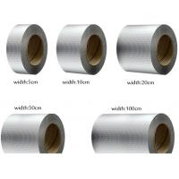 China Aluminum Single Sided Butyl Rubber Tape / Foil Backed Butyl Tape on sale