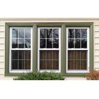 Cheap Double Tempered Glass Aluminum Sash Windows Horizontal Opening Pattern for sale