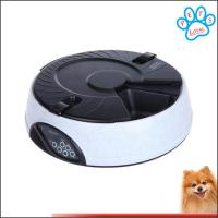 6 Meal LCD Digital Automatic Pet Feeder Meal Dispenser Bowls with Recorder