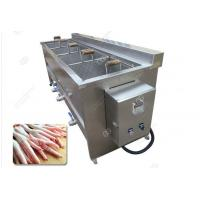 Quality Stainless Steel Potato Chips Blanching Machine High Efficiency/Industrial Vegetable Fruit Blanching Machine Easy Operate wholesale