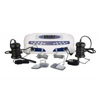 China Two LCD display detox foot spa , detox machine for feet with optional massage slipper on sale