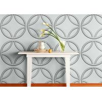 Quality Biodegradable Plant Fiber White Home Decor Wallpapers Graffitic 3D Wall Panels for Living Room wholesale