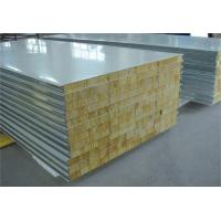 Quality Fire Proof Rock Wool Galvanised Steel Roofing Sheets Environment Friendly wholesale