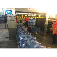 China Stable Gallon Filling Machine 5 Gallon Bottle Palletizer  Small gas Consumption on sale