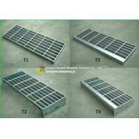 Quality 30 X 3 Steel Stair Treads Grating Material Saving Easy Lifting Good Ventilation wholesale