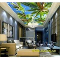 Quality Palm Tree Integrated Ceiling System Bamboo Fiber Soundproof Ceiling Board wholesale