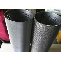 Cheap 50 Micron Sintered Wire Mesh , Heat Resistant Netting High Strength Filter Tube for sale