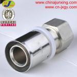 Quality press fittings for pex-al-pex pipe female union wholesale