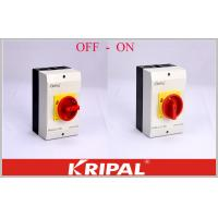 Quality OEM/ODM acceptable Rotary Isolator Switch Disconnect Switch OFF-ON 4P 40A Semko Good appearance wholesale