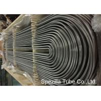 Quality ASME SA213 U Bend Pipe for Heat Exchanger , TP304 Seamless Stainless Steel Tubing wholesale