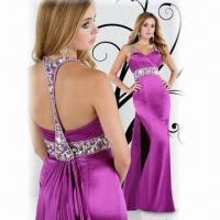 Quality Brand New Halter Evening Dress/Prom Gown, Available in Various Colors wholesale