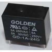 Quality Subminiature PCB Power Relay , Rohs Approval Golden Relay 12 Volt wholesale