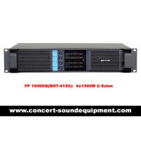 Quality Disco Sound Equipment / FP 10000Q Switch Mode 4 Channel 4x1300W Amplifier wholesale