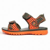 Quality Children's Sandals with High Quality PU Upper, Mesh Lining and PU Outsole wholesale