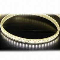 China 3528 SMD Warm White LED Rope Light, Flexible, Soft, 120 LEDs/M, Waterproof IP68, PU Glue Filling  on sale