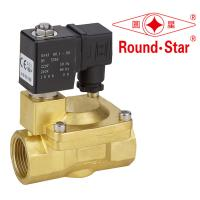 Quality 1 Inch Automatic Bistable Latching Solenoid Valve Pilot Operated Brass wholesale