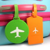 China Custom pvc luggage tag for travel suitcase on sale