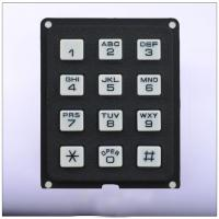 Quality 3X4 small plastic mobile phone keypad wholesale