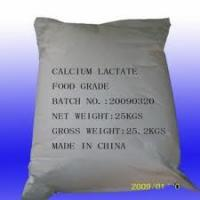 Quality Calcium Lactate Food Additives Ingredients For Medicine wholesale