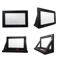 Quality Outdoor Inflatable Movie Screen Removable Portable Air Projector Screen wholesale