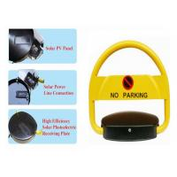 Quality No Parking Reserved Car Position Lock , Parking Space Locking Device Solar Panel Powered wholesale