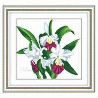China Cross stitch kit with colorful printing on sale