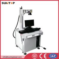 Quality Bath room and kitchen products fiber laser marking machine with laser power 20W wholesale