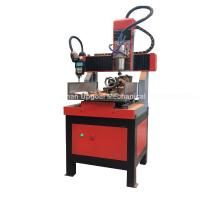 Cheap Small 300*300mm 4 Axis CNC Engraving Cutting Machine for sale