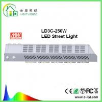 Quality Meanwell Driver Solar Powered Led Street Lights / Led Road Lamp 250w 130 Lm / W wholesale