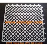 Quality PB-08 Interlocking plastic base for decking tiles wholesale