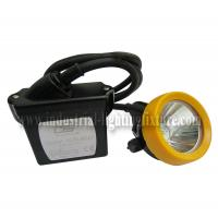 China Portable LED Miners Head Lamp 3.7V KL5LM , CE LED Mining Lights IP67 on sale