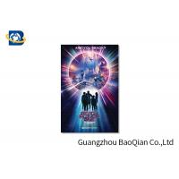 Quality High Resolution Lenticular Greeting Cards Movie Star Photo Eco - Friendly Material wholesale