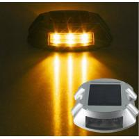 Quality IP68 Solar Aluminum Driveway Road Studs , Reflective Cat Eyes Led Lend Lights wholesale