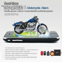 Quality RFV10 Remote-Control Motorcycle Security AGPS LBS Tracker W/ web tracking & Alarm by SMS wholesale