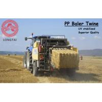Quality UV Stabilized Square Or Round PP Baler Twine 130 Meter / 9kg Yellow Color wholesale