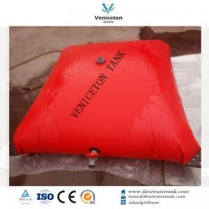 China collapsible 500 gallon custom water storage tank fresh water holding tank pvc water bladder on sale