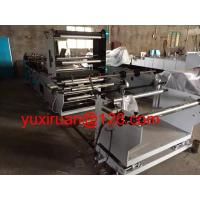 Quality High Speed Middle / Three Side Sealing Zipper Plastic Bag Making Machine wholesale