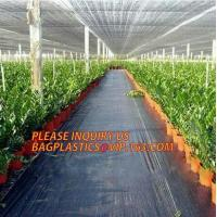 Quality environmental biodegradable pp woven weed control mat, heavy dury pe tarpaulin,Woven Weed Barrier/Weed Control Fabric wholesale