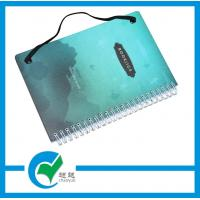 China Spiral Wire - O Hardcover Custom Printed Notebook With Elastic Cord For Private Diary Book  on sale